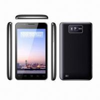 """China 5.0"""" WVGA Smartphone,480x800 Capacitive,1GHz platform MTK6575,4GRAM+32GROM Dual SIM/Standby, Android wholesale"""