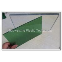 Plastic Construction Material Solid Polycarbonate Sheet / Polycarbonate Roofing Panel