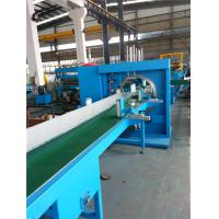 China Single Chain Ridge Cap Roll Forming Machine With Auto Stacker 12 Stations wholesale