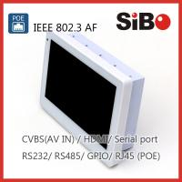 China 7 White In Wall Mounted Tablet PC With Wall Bracket, POE For Home Automation on sale