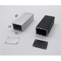 China 35*26*80mm Divided Body Small Extruded Aluminum Enclosure wholesale