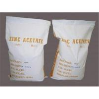 China Zinc Acetate on sale