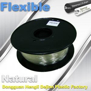 China Soft pla filament 1.75 / 3.0 mm  Flexible 3d Printer Filament for 3d Rapid Prototyping wholesale