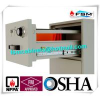 China Antimagnetic Fireproof Storage Cabinets 4 Drawer For CD / Documents wholesale