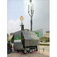 China mobile telescoping pneumatic mast for cell on wheels, Malaysia telecom mast, aluminum mast tower on sale