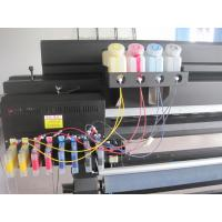 China 3.2M Eco Solvent printer in Bulk Ink System with 2 DX7 for printing flex banner wholesale