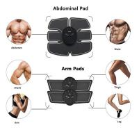China Abs Stimulator Muscle Trainer Ultimate Abs Stimulator Muscle Toner Toning Belt EMS Toner Fitness Equipment for Abdomen/A on sale