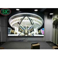 Buy cheap P4 62500 dots/sqm high definition  indoor Led Advertising Signs Full Color With 2200 Cd/Sqm , 3 years warranty from wholesalers
