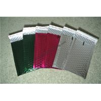 Quality Laminated Colorful Metallic Bubble Mailers For Delivery Industry 345x465mm #K for sale