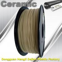 China Surface Light / Ceramic Texture  3d Printing Filament Materials Plastic Strips wholesale