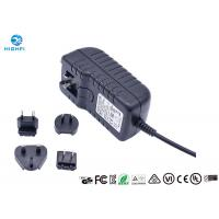 China 12V 2A Multi Plug Interchangeable Plug Power Adapter For CCTV Camera Monitor wholesale