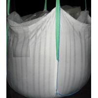 China Big Woven Fibc Ventilated Bulk Bags Flat Bottom ISO21898-2005 Approved on sale