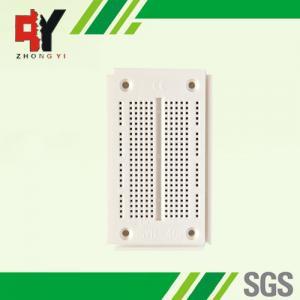 China SYB-46 White 270pts 90 x 52 x 8.5mm Solderless Breadboard Test Develop DIY wholesale