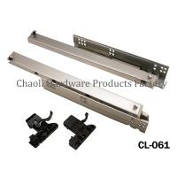 Buy cheap Undermount soft close slide CL-061 from wholesalers