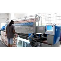 China Professional Industrial Embroidery Machines 3353 Mm Embroidery Width , Minimum Operating Noise wholesale