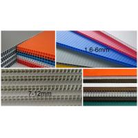 China 8' X 4' Pp Cartonplast Board For Packing / Printing / Protection on sale