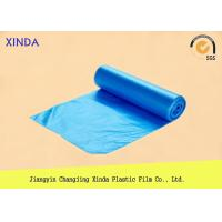 Quality HDPE plastic bag on rolls recycled material printing customized logo and artwork for sale