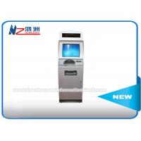 Buy cheap IR Touch Screen Self Service Coin Counting Kiosk System With Card Dispenser from wholesalers
