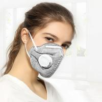 China Health Protective Folding Mask Colored FFP2 Dust Mask With Valve Anti Pollution wholesale