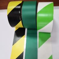 China Stripe Color Pvc Warning Tape Caution Tape Strong Adhesive Force Customized Size wholesale