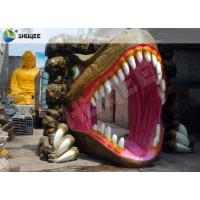 China Dinosaur Designed Cabin 5D Cinema Equipment With Comfortable Chairs wholesale