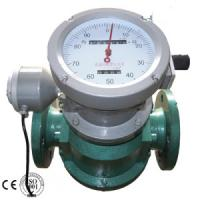 China oval gear flow meter/pulse output flow meter made in China wholesale