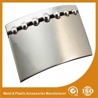 China Personal Plate Stainless Steel Custom Belt Buckles With Peal Nickle Color wholesale