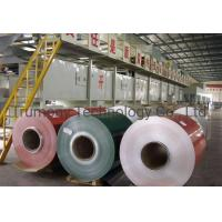 China PE PVDF Color Coating or Mill Finish Roll Foil Aluminum Coil wholesale