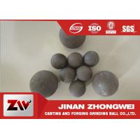 China High Impact Toughness forged grinding balls for cooper mining special used wholesale