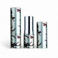 China Cosmetic Packaging/Lipstick Tubes, Customized Colors are Accepted, Available with Height of 71mm wholesale