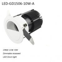 China 10W recessed mounted modern dimmable LED down light for supermarket wholesale