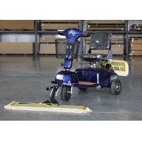China OEM / ODM Wireless Floor Mopping Machine Dust Cart Scooter 900MM Cleaning Width wholesale