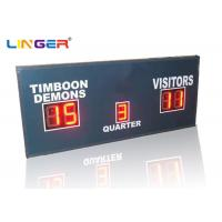 Buy cheap Small Red LED Football Scoreboard / Electronic Sports Scoreboard from wholesalers