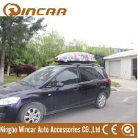 Quality ABS Car Roof Cargo Box Auto Cargo Carrier , 450L Car Roof luggage Box for sale