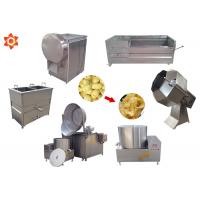 China Industrial Small Scale Potato Chip Making Machine With 1 Year Warranty wholesale