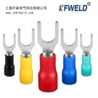 China SV Fork Type Insulated Ferrule Terminal, Wire Crimp Tube Sleeve SV Fork Type Insulated Cord End Terminals wholesale