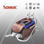 China Portable E-Light Laser Hair Removal , Skin Rejuvenation Beauty Machine wholesale