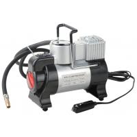 China Silver and Black Metal Air Compressor For Car Inflation With Led Light wholesale