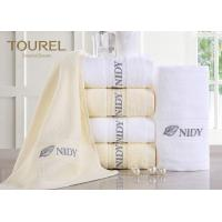 China Customized Hotel Hand Towels High Water Absorbent 100% Cotton wholesale