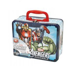 China Marvel Avengers Puzzle Tin Lunch Box wholesale