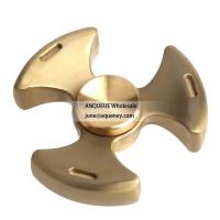 NEW design high quality brass hand type fidget spinner Rotation Time Long Anti Stress