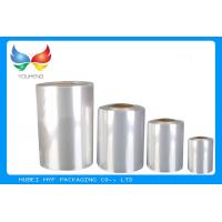 China 45% ~ 50% Shrinkage PVC Heat Shrink Film Rolls for Label Printing wholesale