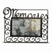 China Metal Photo Frame, Various Colors are Available, BSCI Audit wholesale