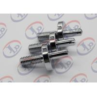 China CNC Milling Metal Lathe Services Nickel Plated Iron Bolts with slotted wholesale