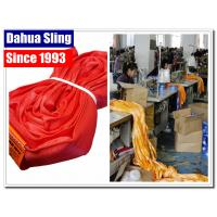 China USA Standards Endless Round Slings UV Resistant 14000LB Vertical Capacity wholesale