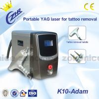 China Portable ND YAG Laser Tattoo Removal Machine 1064nm / 532nm For Beauty Salon wholesale