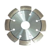 China Abrasion Resistant Diamond Cutting Blade Laser Welded For Grooving And Cutting Out Cracks wholesale