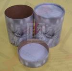 China Sealing Cylinder Food Packaging Tubes Cardboard Gift Box Soy Ink Print wholesale