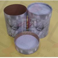 Quality Sealing Cylinder Food Packaging Tubes Cardboard Gift Box Soy Ink Print for sale