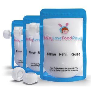 China Leak Proof Food Plastic Pouches Packaging Ziplock , Freezer Safe Breast Milk liquid pouch wholesale